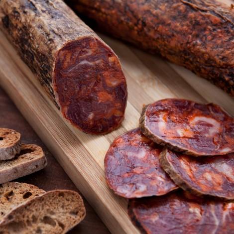Chorizo Ibérique de Bellota, la charcuterie la plus typique de la péninsule (150 g)