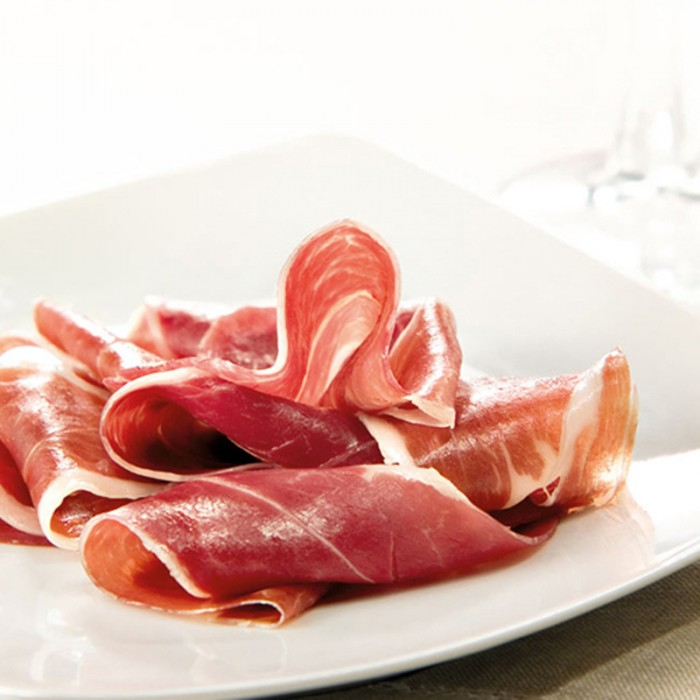 The middle of the Bellota Iberian Shoulder Ham 150g, the most desired section of the shoulder ham