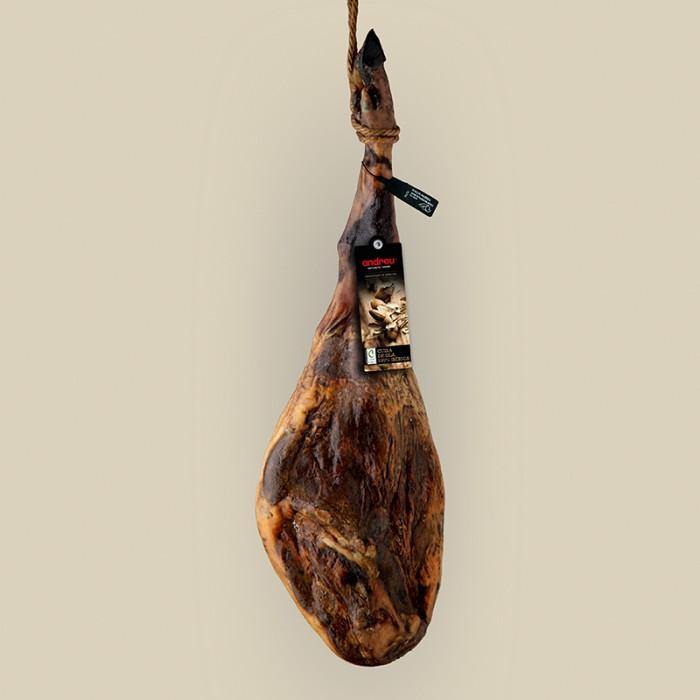 Jamón de Bellota 100% Ibérico alimentado en montanera (7 kg)