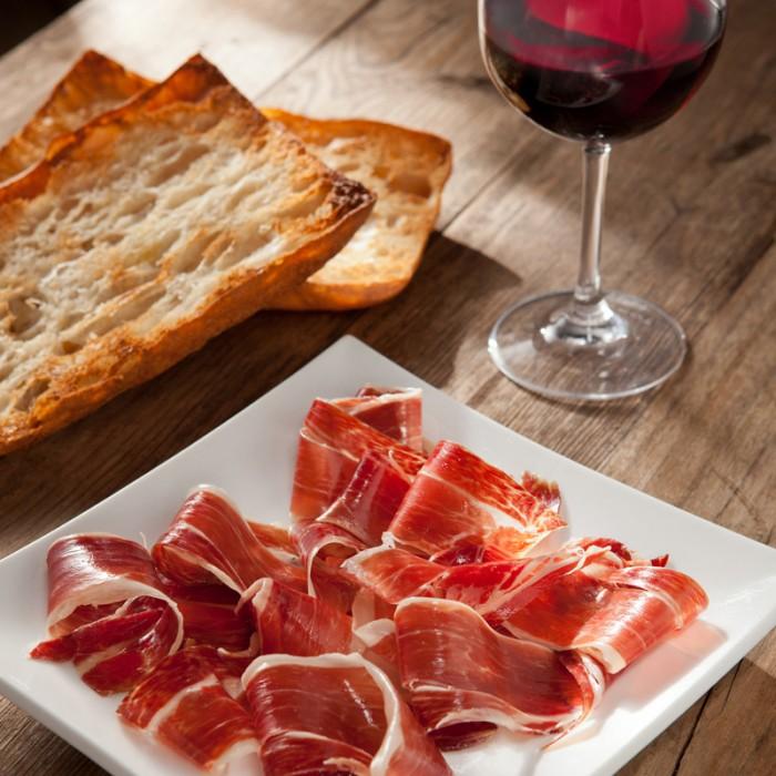 Andreu Shoulder Ham 150g. More cured