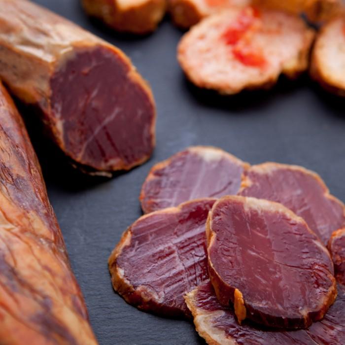 Lomo de bellota ibérico, artesano, elaborado con las mejores carnes del cerdo (150 g)