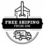 free shipping from 30€. 24-48h